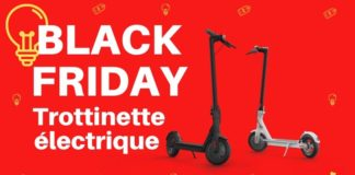 black friday trottinette électrique