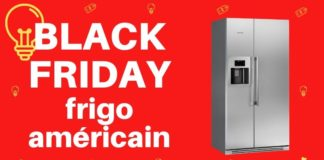 black friday frigo américain