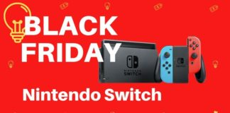 black friday nintendo switch pas cher