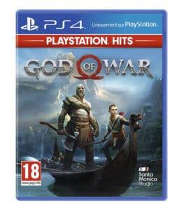 jeu god of war ps4