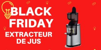 promo black friday extracteur de jus
