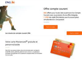 promo banque en ligne ING bonus offerts