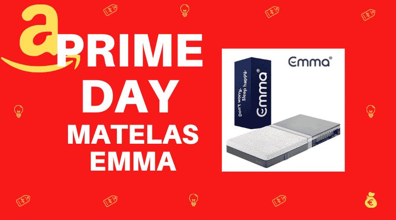 prime day matelas emma