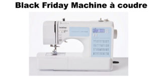 Black Friday Machine à coudre promo